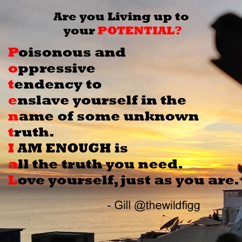 Poem-living-up-to-your-potential-you-are-enough